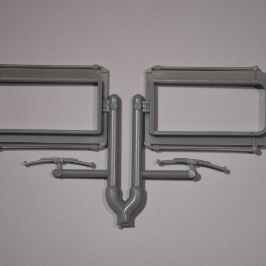 Standard Modern Style Passenger Car Diaphragms 1 Pair