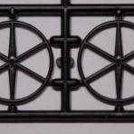 Material Handling Car Door Locking Wheels QTY 2