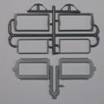 Working Standard Modern Style Passenger Car Diaphragms 1 Pair