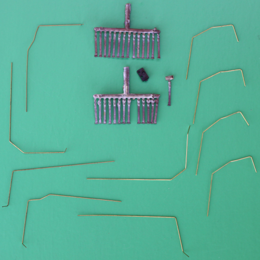 HAND RAILS AND STANCHIONS FOR GP 9/18/20