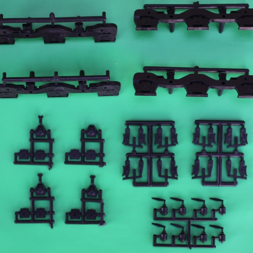 """GE GSC DASH 7 SIDE FRAMES FOR ATHEARN GE """"C""""(3AXLE)"""
