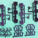 """GE GSC DASH 8 SIDE FRAMES FOR ATHEARN GE """"C""""(3AXLE)"""