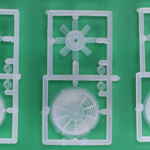 48 Q FANS ROTATING BLADES LATE GP AND SD 3 PER KIT