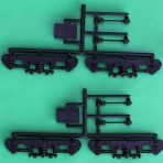 Superliner I (Crnt Style w/Coil Springs) PsngrCar/Trks w/Whlst