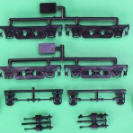 Commonwealth Psngr CarTruck per Penn RR w/o Whlsts 1 Pair