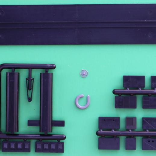 Psngr Car Dtl Kit incl 85ft Psgr Car Frame/Floor