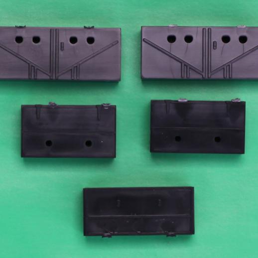 Budd Style Passenger Car Battery Boxes QTY 5
