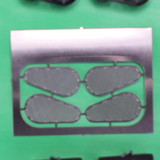 Belt Driven Psngr Car AC Comp w/ Etched see through Belt Guards