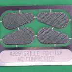 Etched see through Belt Guards for Belt Driven Psngr Car AC Comp