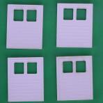 Five Foot (5′) Horizontally Ribbed Baggage Car Doors