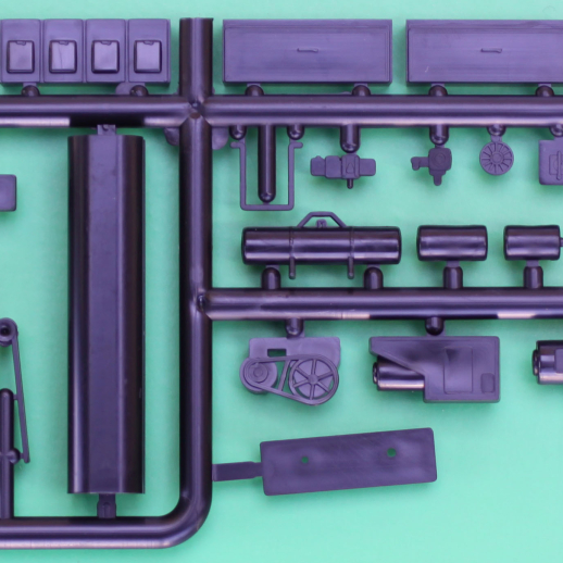 Passenger Car Underbody Detail Set #1